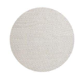VENTURE DESIGN Julana gulvtæppe - beige uld og polyester (Ø200)