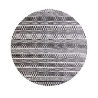 VENTURE DESIGN Sishu gulvtæppe - lysegrå uld og bomuld (Ø200)