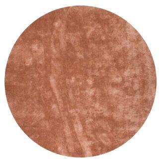 VENTURE DESIGN Undra gulvtæppe - dusty pink viskose (Ø200)