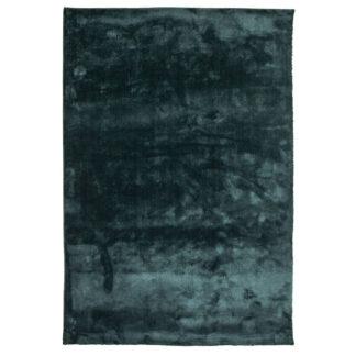 VENTURE DESIGN Undra gulvtæppe - grøn viskose (250x350)