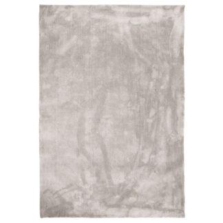 VENTURE DESIGN Undra gulvtæppe - sølv viskose (250x350)