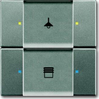 ABB Knx kontakt 2/4-tryk grå