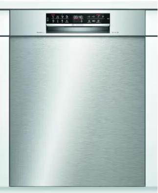 Bosch SMU6ZCS57S Opvaskemaskine 2+2 års garanti