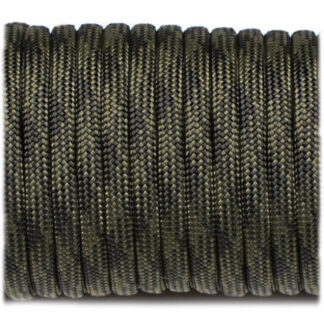 Paracord 550, Black Forest, 10 meter