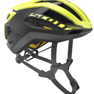 Scott Centric Plus (MIPS) Road Hjelm - Yellow/Black