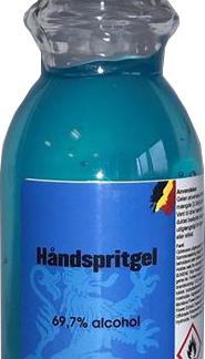 Morgan Blue Håndsprit Gel