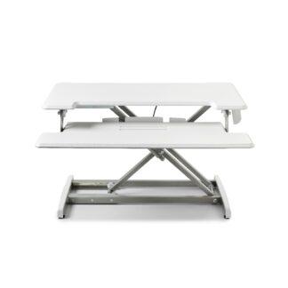 Steppie hæve/sænkebord, hvid