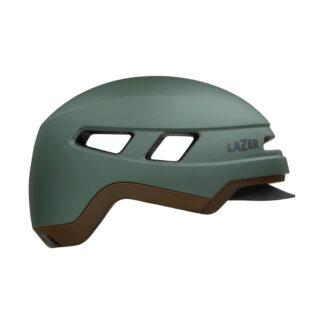 Lazer Cruizer - Cykelhjelm E-bike - Str. 55-59 cm - Mat mørkegrøn