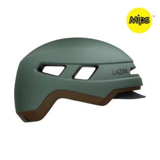 Lazer Cruizer MIPS - Cykelhjelm E-bike - Str. 52-56 cm - Mat mørkegrøn