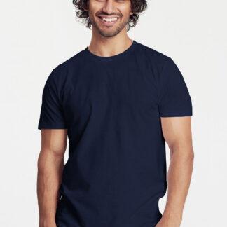 Neutral Økologisk T-shirt til - Tætsiddende (Navy, S)