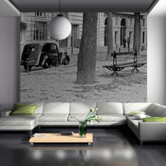 ARTGEIST Fototapet - Fredelig franske gade (flere størrelser) 250x193