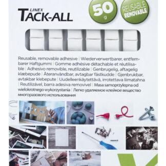 Linex Tack-All klæbegummi 90 firkanter 50g