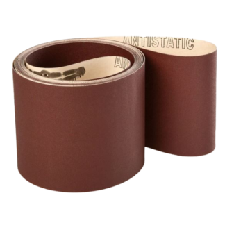 150x7200mm Industri slibebånd på papir 10 stk. Korn P180