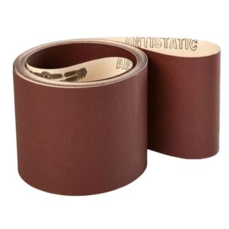 150x7200mm Industri slibebånd på papir 10 stk. Korn P80