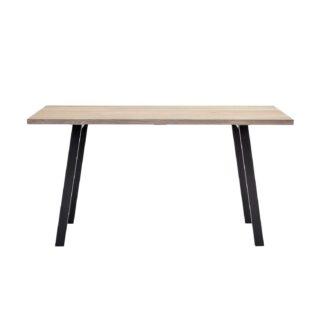 BLOOMINGVILLE Cozy skrivebord - natur eg og jern (145x55)