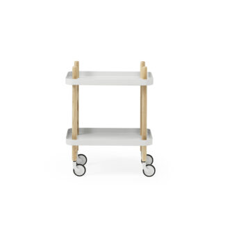Block Table Light Grey - Normann Copenhagen