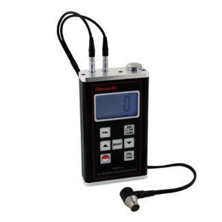 Ultrasonisk tykkelsesmåler med måleomr. 1,0 - 400 mm x 0,01