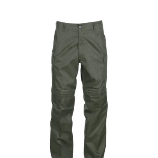 Fostex Zip-Pants (Grøn, 2XL)