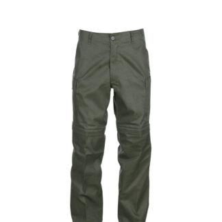Fostex Zip-Pants (Grøn, 3XL)