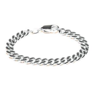 Frederik IX Chunky armbånd sølv - DMV0318RH Sølv 19 cm