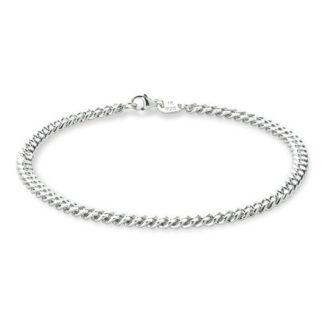 Frederik IX Curb armbånd sølv - DMVGD110RH Sølv 21 cm