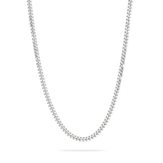 Frederik IX Curb halskæde sølv - DMMGD110RH