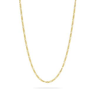 Frederik IX Figaro halskæde forgyldt - DMMFG060GD