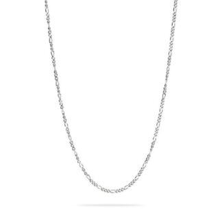 Frederik IX Figaro halskæde sølv - DMMFG060RH