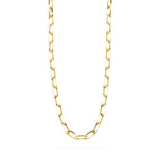 Frederik IX Prestige halskæde forgyldt - DMM0319GD