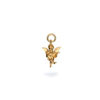 Frederik IX forgyldt Angel charm - DMM0316GD