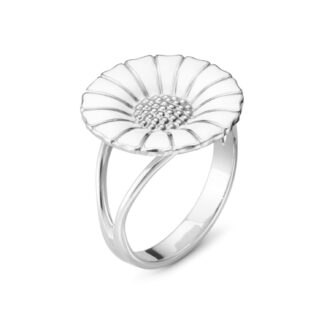 Georg Jensen Hvid Daisy ring - 20000903 200009030057 Hvid 57
