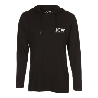 JCW Hooded Tee Long Sleeve Black: Live this Fucking Day Today!