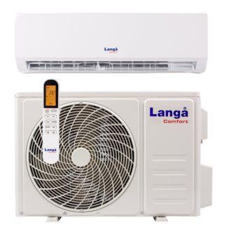 Langå varmepumpe luft til luft 3,4kW med WiFi