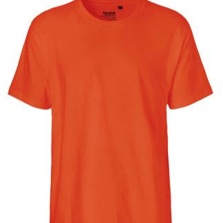 Neutral Økologisk Klassisk T-Shirt (Orange, 2XL)