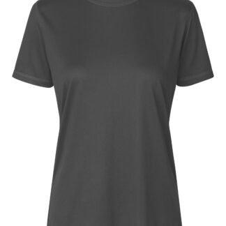 Neutral Organic - Ladies Recycled Performance T-shirt (Charcoal, L)