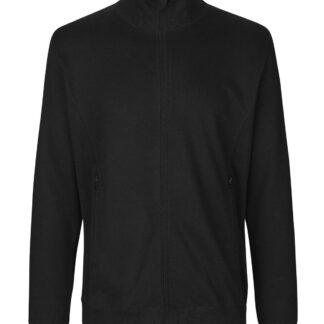 Neutral Organic - Unisex High Neck Jacket w. Zip (Sort, L)