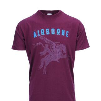 T-shirt Airborne Pegasus (Maroon, 2XL)
