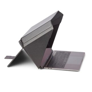"Universal Philbert Laptop Cover m. Solafskærmning & Integreret Privacy 15-16"" - Sort"
