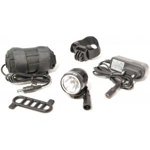 Mixbike Goone 1000lm Inkl. Batteri & Oplader - Cykellygte