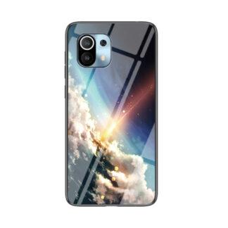 Xiaomi Mi 11 - Hybrid cover med bagside af hærdet glas - Meteor