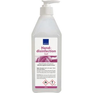 Abena Hånddesinfektion, gel 85%, 600 ml med pumpe