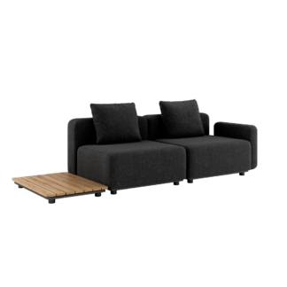 Cobana Lounge Sofa - 2 pers. m. sidebord