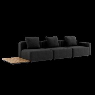 Cobana Lounge Sofa - 3 pers. m. sidebord
