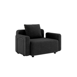 Cobana Lounge Sofa - 1 pers. m. armlæn inkl. pude