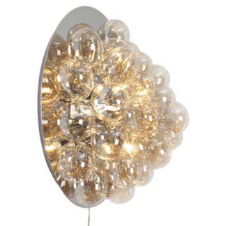 Gross Amber Guld Ø60 Væglampe - By Rydéns