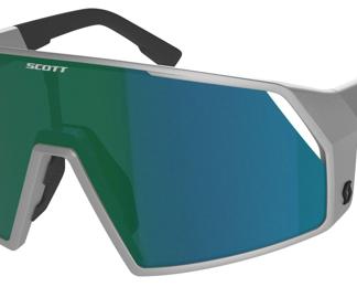 Scott Pro Shield Supersonic Edt. Cykelbriller - Sølv/grøn
