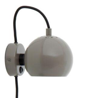 Ball Væglampe Blank Varm Grå - Frandsen