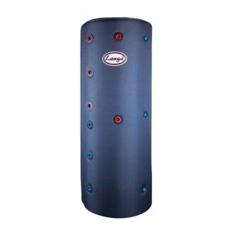 Isoleret akkumuleringstank med sanitetsspiral - 200 liter
