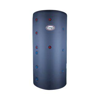 Isoleret akkumuleringstank med sanitetsspiral - 500 liter