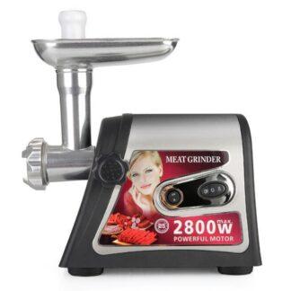 Kødhakker / kødkværn 2800 watt med 2 hulskiver & tilbehør